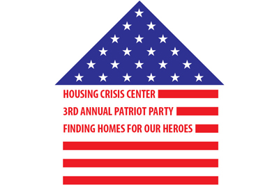 Housing Crisis Center Patriot Party 2014 logo