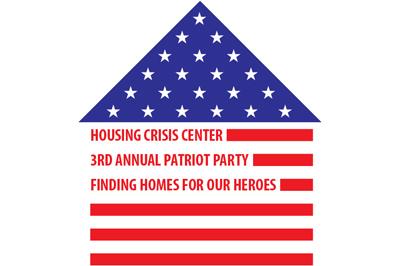 Housing Crisis Center Patriot Party 2014 logo