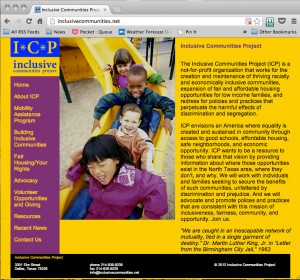 Inclusive Communities Project website