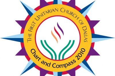 First Unitarian Church of Dallas Chart and Compass logo
