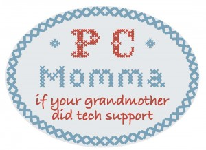 PC Momma logo