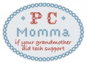 PC Momma logo