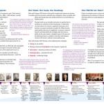 First Unitarian Church of Dallas brochure inside