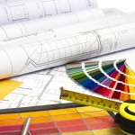 Blue print and interior design tools