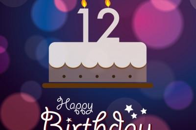 Happy 12th birthday!