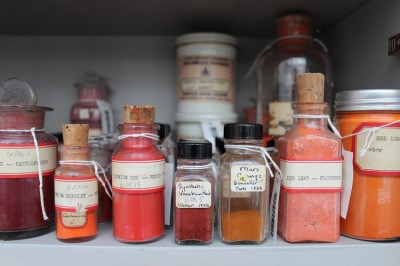 Harvard pigment collection