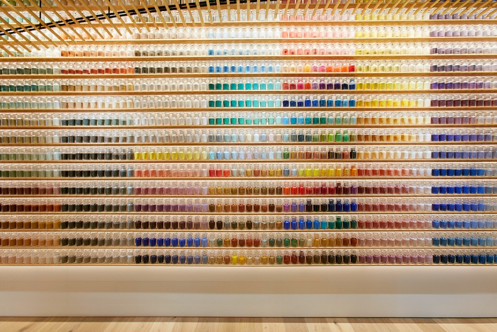 Pigment, art supply store in Japan