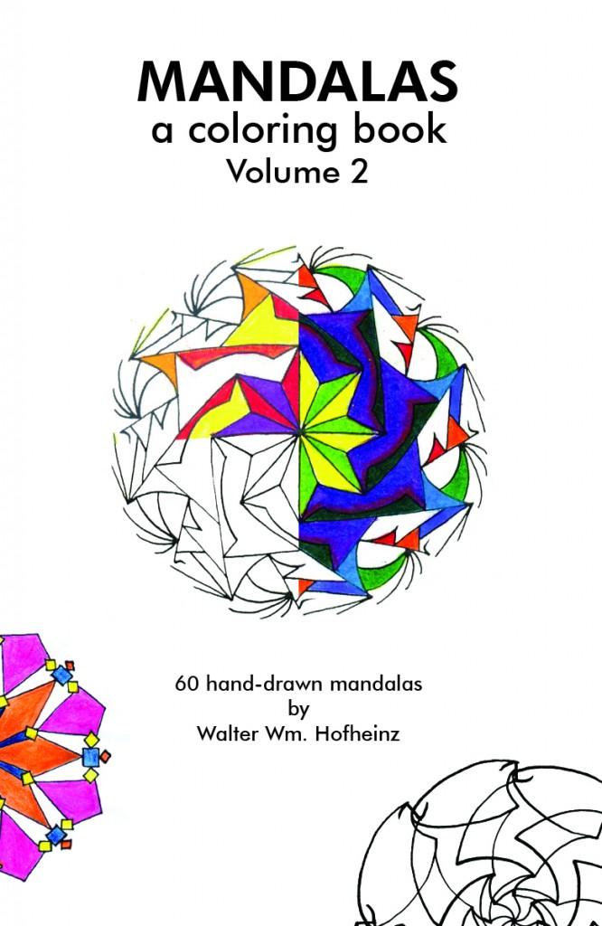 Walter Hofheinz Mandalas Volume 2 Book Cover
