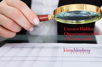 Kim Schlossberg Designs - Uncover Hidden Opportunities with a Webiste Audit