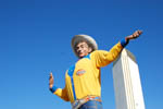 Very low resolution Big Tex