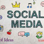 30 Days of Social Media Topics by Kim Schlossberg Designs