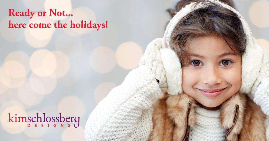 Holiday marketing ideas from Kim Schlossberg Designs