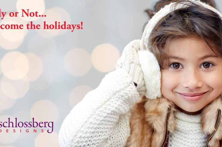 Holiday marketing from Kim Schlossberg Designs