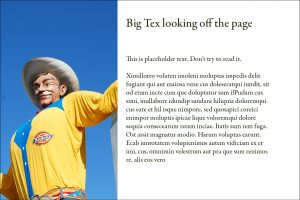 Big Tex by Kim Schlossberg Designs