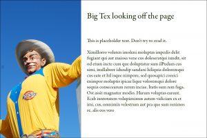 Big Tex by Kim Schlossberg Designs
