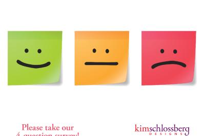 Kim Schlossberg Designs Survey