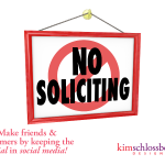Keep the Social in Social Media by Kim Schlossberg Designs