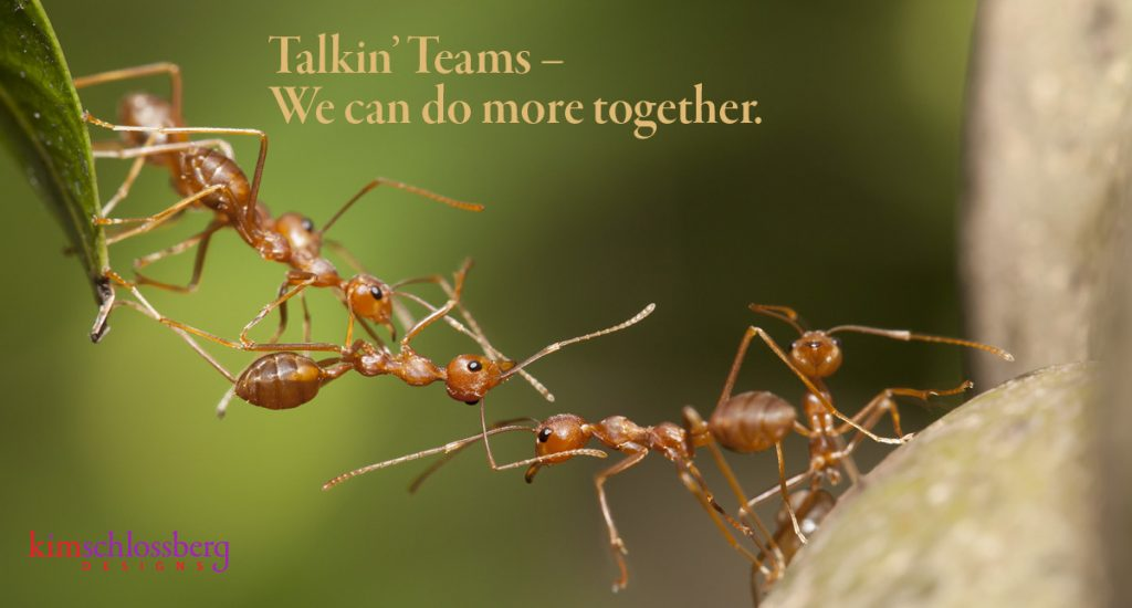 Talkin' Teams by Kim Schlossberg Designs