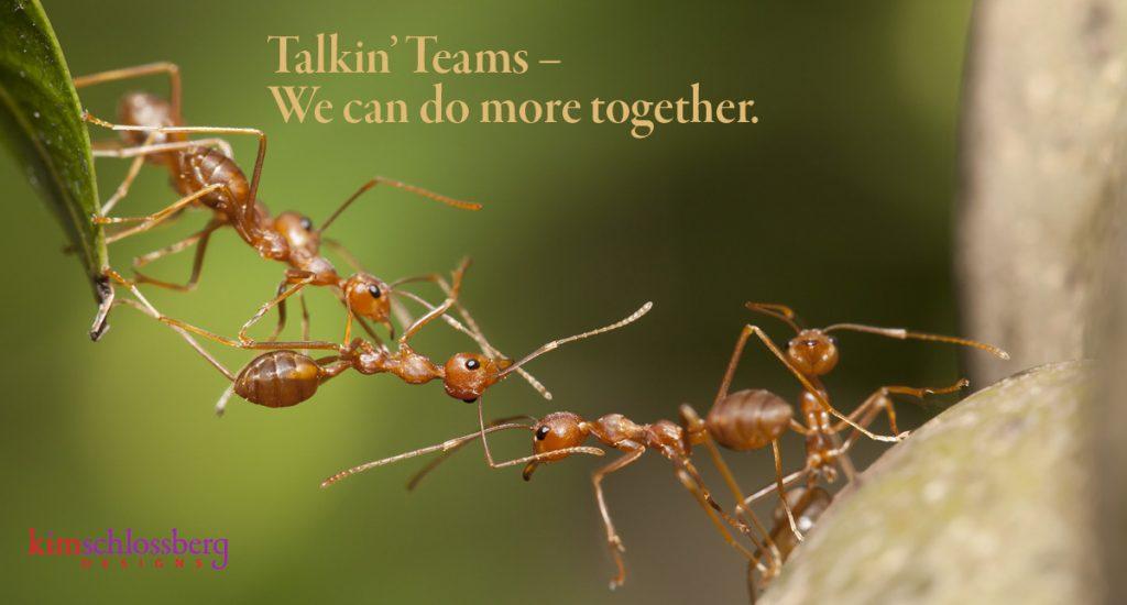 Talkin' Teams by Kim Schlossberg Designs