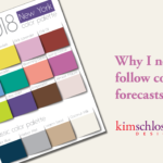 Why I never follow color forecasts by Kim Schlossberg Designs