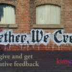 How to give and get collaborative feedback by Kim Schlossberg Designs